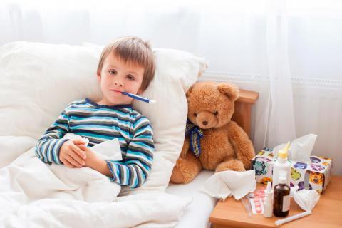 Aliviar fiebre en los niños