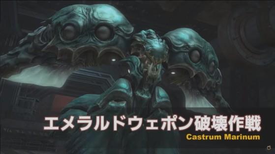 FFXIV 5.4 Emerald Arma Castrum Marinum - Final Fantasy XIV
