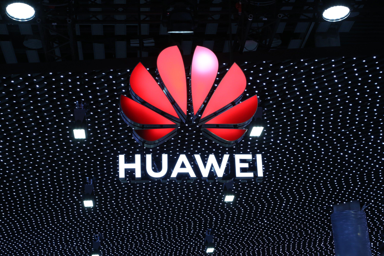 Logotipo de Huawei MWC 2019