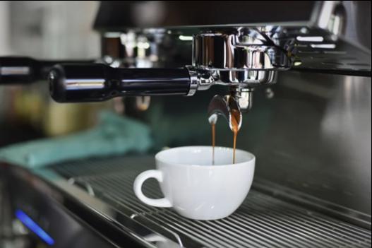 café de máquina