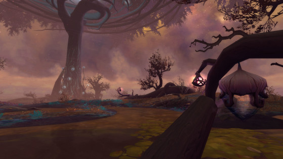 The Mists of Tirna Scithe, a medio camino entre la belleza natural y la repugnante decadencia - World of Warcraft