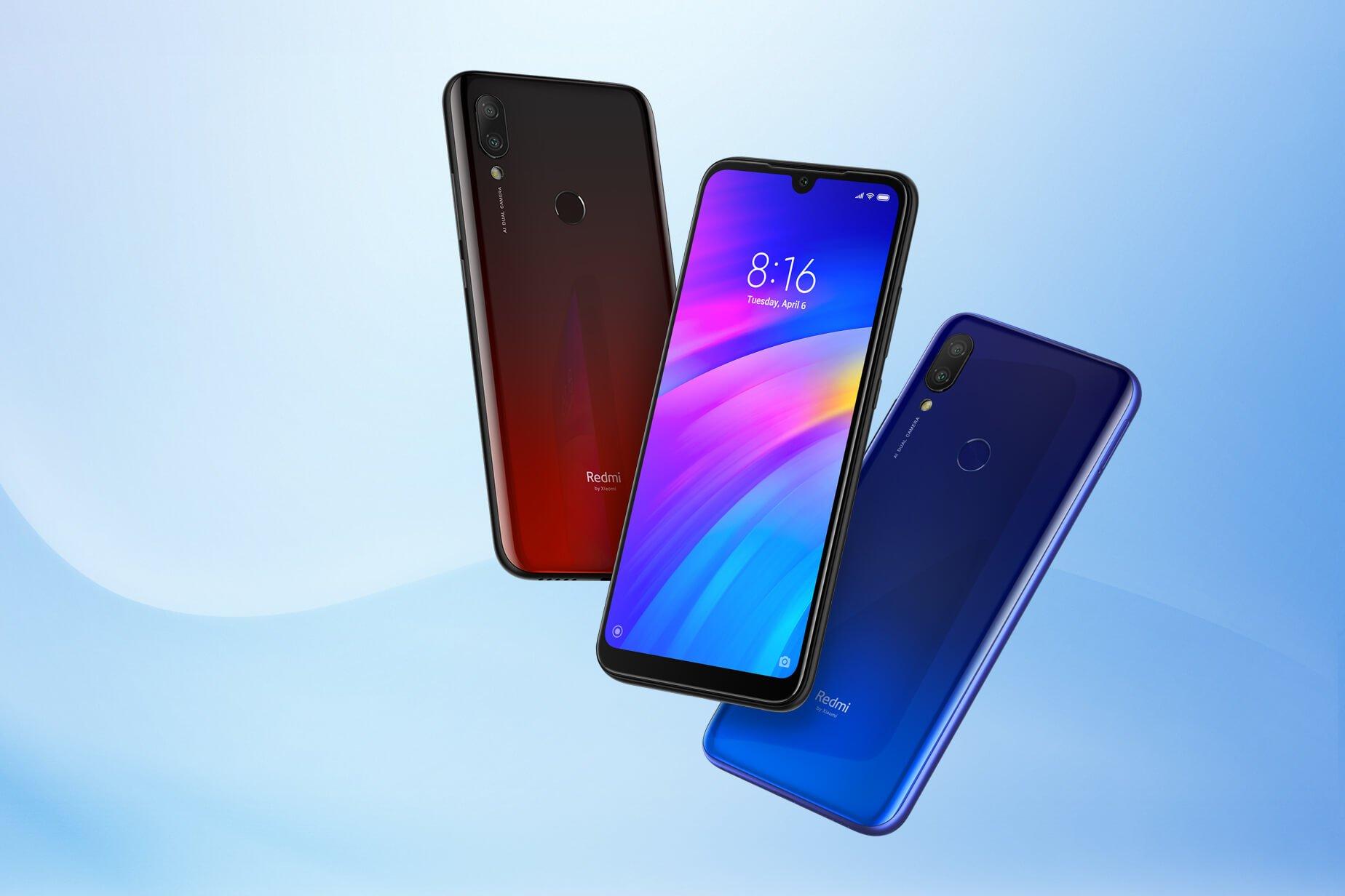 Xiaomi Redmi 7 todos los colores presentados