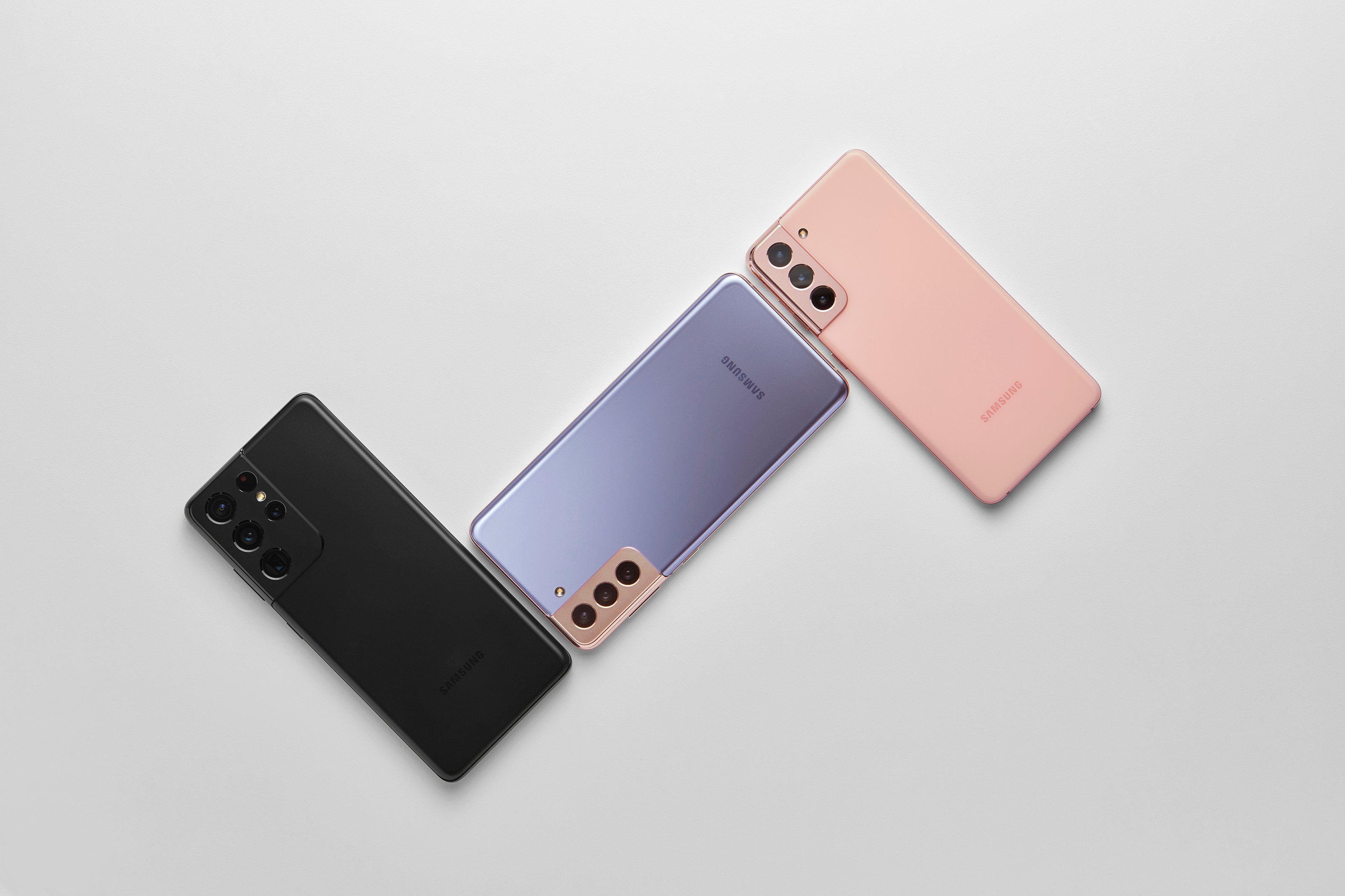 Destacado Samsung Galaxy S21 Series Plus Ultra