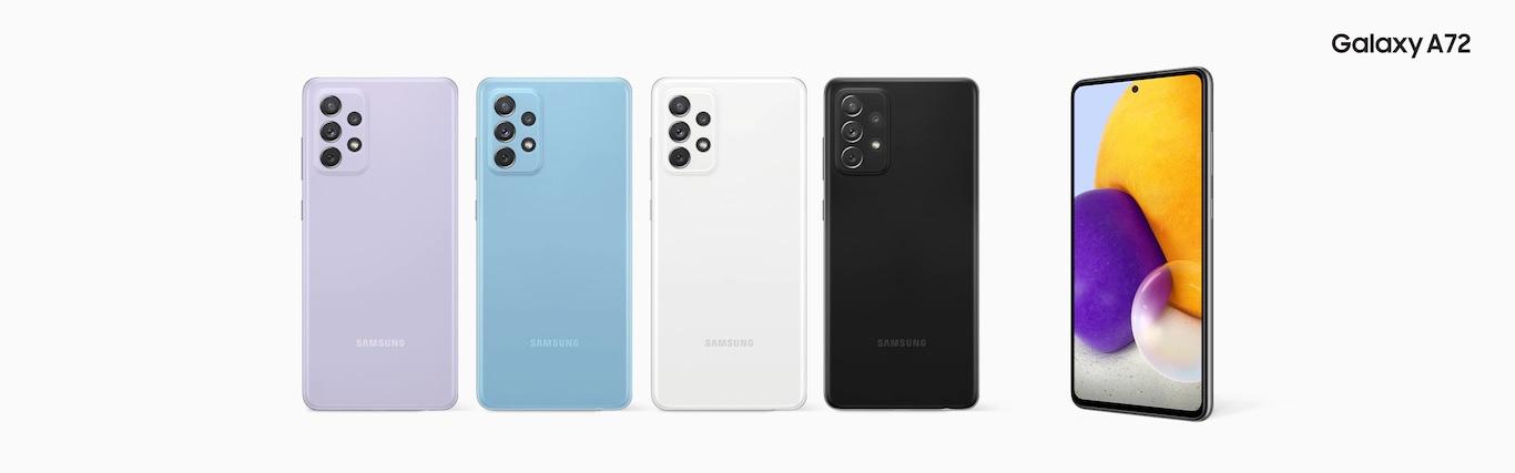 Galaxy A72 4G todos los colores