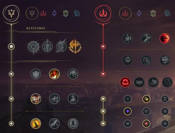 Esta es la mejor combinación de runas de Gwen - League of Legends