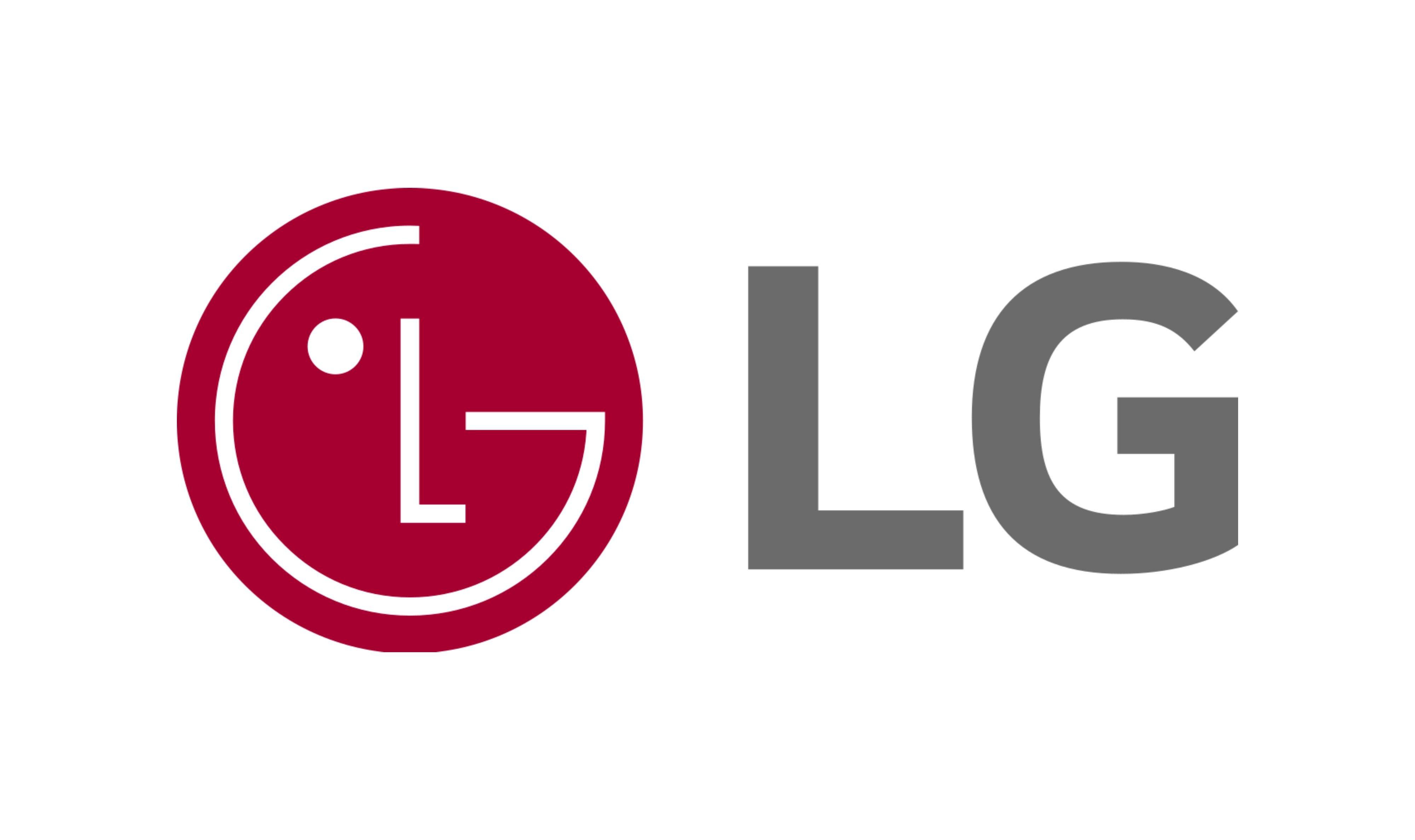 Logotipo de LG destacado